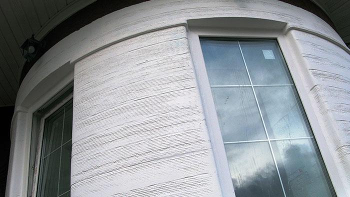 элемент дома распечатанный на 3d принтере