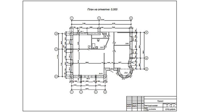 план дома для 3d печати