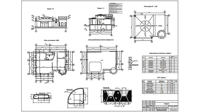 чертежи и эскизы дома для 3d печати